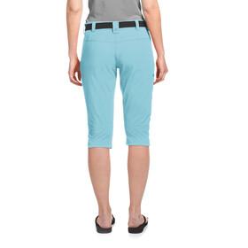 Maier Sports Inara Slim 3/4 Pants Women, blue topaz
